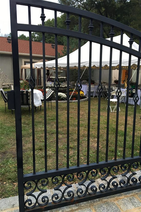 2016 Taste of Italy outdoor seating