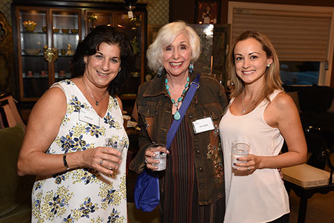 Janet Ryan, Lois Laudati and friend