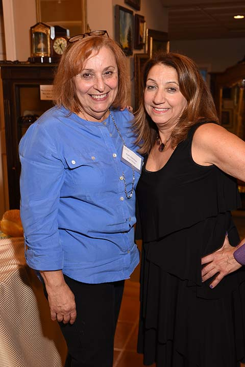 Ruth Hantman of Design Consign with Karen Arakelian