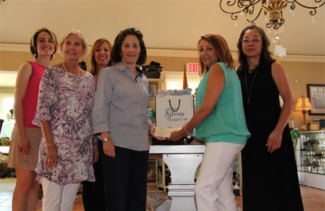 The Gloria Foundation donates $12,000 to Jersey Battered Women's Service